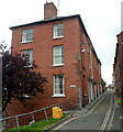 SO5174 : From narrow to narrower along Upper Linney, Ludlow by Jaggery