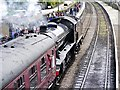 SD7916 : The Great Marquess Arrives at Ramsbottom by David Dixon
