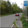 SN9904 : Cynon Trail distances from Trecynon by Jaggery