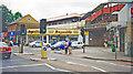 TQ2369 : Raynes Park Station, entrance on Coombe Lane, 1998 by Ben Brooksbank
