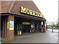 TM4291 : Entrance of Morrisons & Morrisons Supermarket Postbox by Geographer