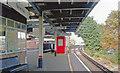 TQ2369 : Raynes Park Station, to Waterloo on Platform 1 by Ben Brooksbank