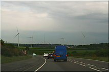 SK5758 : Lindhurst Windfarm by Chris