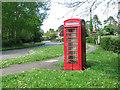 TF9828 : Redundant K6 telephone box in Stibbard by Evelyn Simak