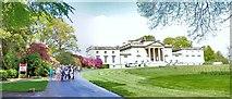 ST7734 : Stourhead House : The Approach by Len Williams