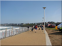 C8540 : West Bay promenade Portrush by Willie Duffin