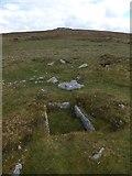 SX7375 : A burial cist on Blackslade Down by David Smith