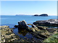D0345 : The sea at Ballintoy by Kenneth  Allen
