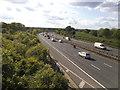 TQ1595 : The M1 northbound, Bushey by David Howard