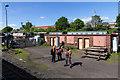 SO8375 : Severn Valley Railway Depot by David P Howard