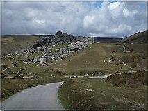 SX7377 : Bonehill Rocks by David Smith