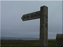 HP6301 : Footpath sign by James Allan