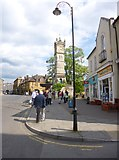 SU1429 : Salisbury, clock tower by Mike Faherty