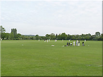 SK5236 : Cricket match at Chilwell by Alan Murray-Rust