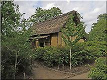 TQ1876 : The Minka house, Kew by Paul Harrop