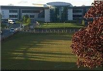 SX9065 : Evening shadows, Torquay Academy by Derek Harper