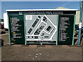 TM4488 : Ellough Industrial Estate sign by Adrian Cable
