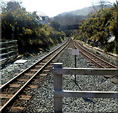 SH5848 : Two tracks into one, Beddgelert by Jaggery