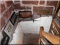 SJ4553 : Millers' Plaques, Stretton Mill by David Dixon
