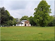 SD8304 : Heaton Park, Garden In Front Of The Dower House by David Dixon