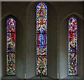 TR0420 : East window, All Saints' church, Lydd by Julian P Guffogg