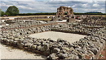 SJ5608 : Roman Remains at Wroxeter by Kim Fyson