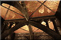 SJ4066 : Ceiling at Chester Cathedral by Jeff Buck