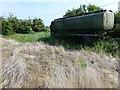 TL5077 : Abandoned tanker on Grunty Fen by Richard Humphrey