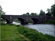 NT2540 : Tweed Bridge from the left bank to the west by James Denham