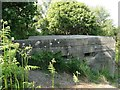 TM5495 : Pillbox on Gunton Cliffs by Adrian S Pye