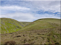 NT8820 : Pennine Way ascending to Auchope Cairn by Alan O'Dowd