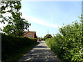 TM4388 : Cucumber Lane, Weston by Adrian Cable