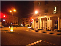 TQ2882 : Park Crescent at the junction of Marylebone Road by David Howard