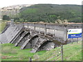 NS0683 : Scottish Hydro Tarsan Dam by M J Richardson