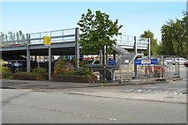 SD7807 : Metrolink Park and Ride Construction at Radcliffe Station (May 2014) by David Dixon