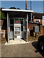 TM4290 : Railway Ticket Machine & Royal Mail Dump Box by Adrian Cable