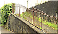 D1004 : Old fence, Ballymena by Albert Bridge