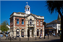 SZ1592 : Buildings of Christchurch (a selection): old Town Hall, High Street by Mike Searle
