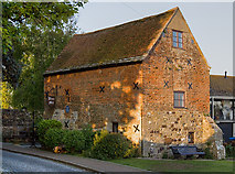 SZ1592 : Buildings of Christchurch (a selection): Place Mill, Town Quay (1) by Mike Searle