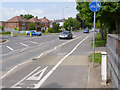 SK2325 : Tutbury Road at Forest Rdge Way by Alan Murray-Rust
