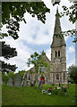 SK2425 : Church of St John the Divine, Horninglow by Alan Murray-Rust