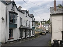 SS6644 : The Fox and Goose, Parracombe by Roger Cornfoot