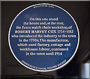 SZ1592 : The Blue Plaques of Christchurch:  No. 6 by Mike Searle