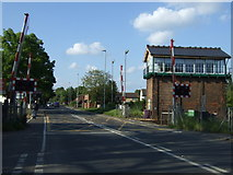 TL4197 : Level crossing on the B1101, March by JThomas