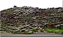 C9444 : County Antrim - Giant's Causeway - Grand Causewayy by Suzanne Mischyshyn