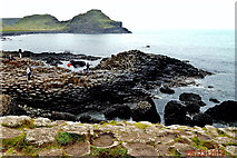 C9444 : County Antrim - Giant's Causeway - Great Stookan &  The Little Causeway by Suzanne Mischyshyn