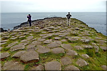 C9444 : County Antrim - Giant's Causeway - Top of Grand Causeway by Suzanne Mischyshyn