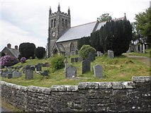 SS6644 : Christ Church, Parracombe by Roger Cornfoot