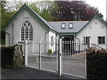 SS6744 : Primary School, Parracombe by Roger Cornfoot