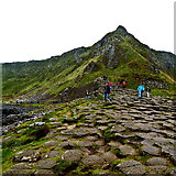 C9444 : County Antrim - Giant's Causeway - Aird Snout by Suzanne Mischyshyn